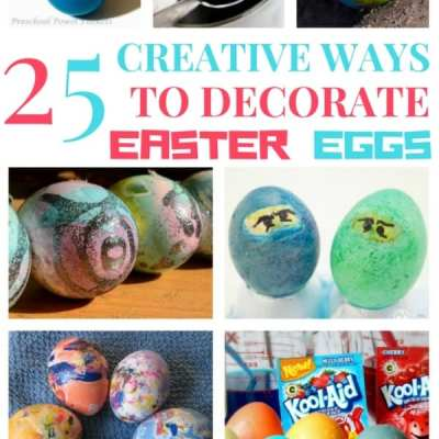 25 Creative Ways to Decorate Easter Eggs