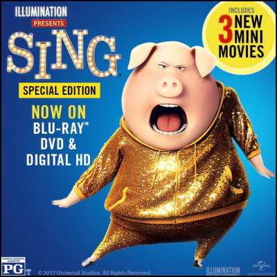 Get Ready to SING out loud with the SING Special Edition Movie Pack! #SINGAuditions