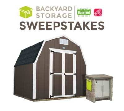 Win the Step2 StoneFront Patio Collection Cooler & Storage (ARV: $299)