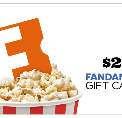 Win the $25 Fandango Gift Card Giveaway! 4/22