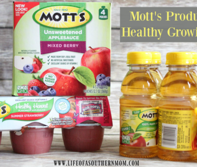 Mott's® for Healthy Growing Boys at Walmart #WatchMeGrow