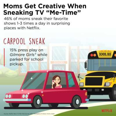 Moms Sneak Some Me Time in Your Life with Netflix #MomSneak