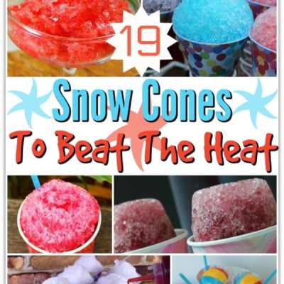 19 Flavorful Snow Cones To Beat the Heat