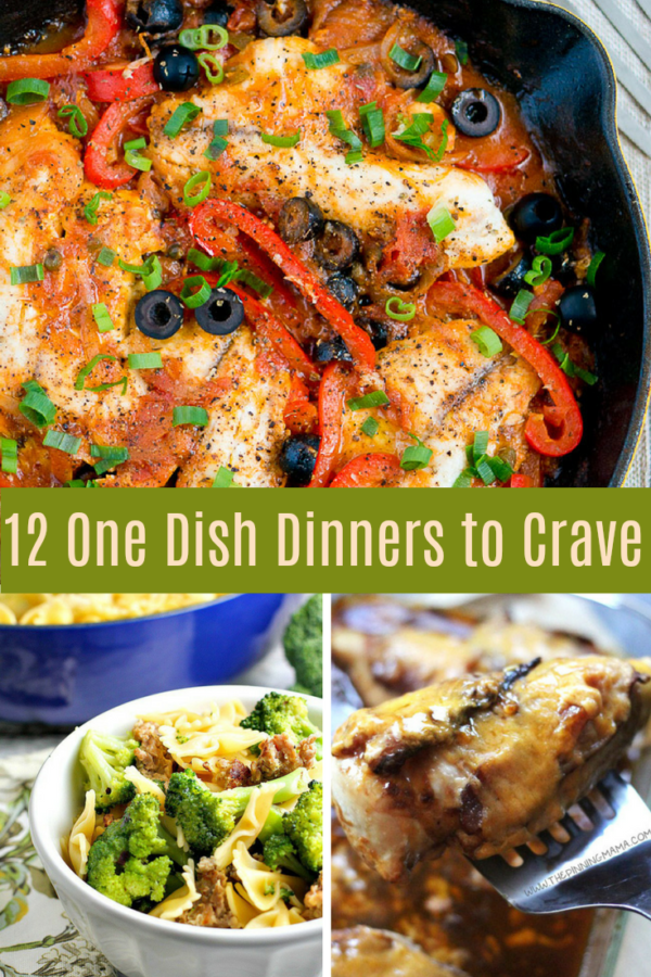 12 One Dish Dinner Recipes to Crave