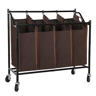 Win this SONGMICS 4-Bag Rolling Laundry Sorter Cart Giveaway! Ends 10/10
