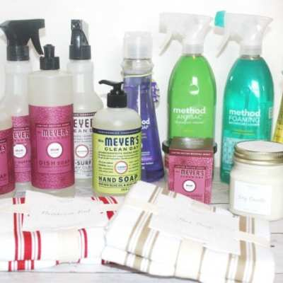 How To Save on Natural Cleaning Products