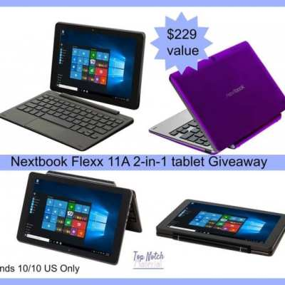 Win this Nextbook Flexx 11A 2-in-1 Tablet Giveaway! Ends 10/10