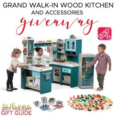 Win this Step2 Grand Walk-In Wood Kitchen + Accessories