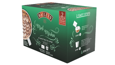Win Bailey's 2 step Cappuccino kit!