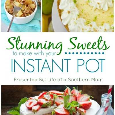 20 Stunning Instant Pot Dessert Recipes