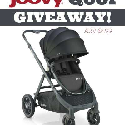 Win this Joovy Qool Stroller Giveaway!