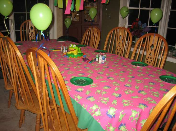 Frugal Kids Birthday