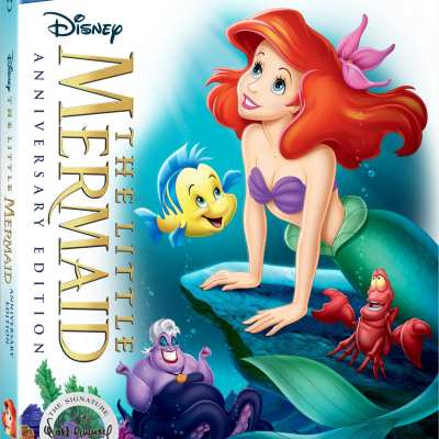 The Little Mermaid 30th Anniversary Edition DVD