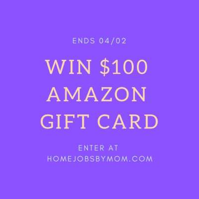 $100 Amazon Gift Card Giveaway! Ends 4/2