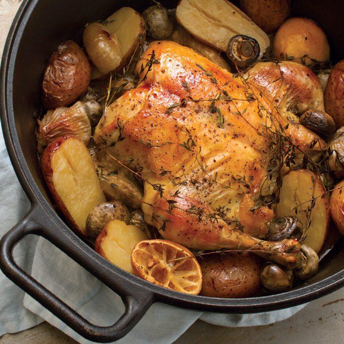 Easy Chicken Pot Roast