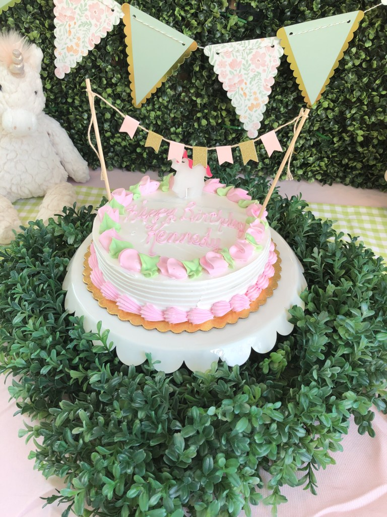 Kennedy's Unicorn Birthday Party • Southern Chick Journal