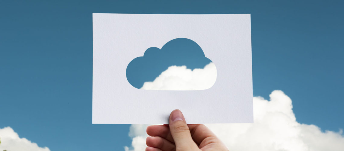 Cloud Computing and Nature Concept