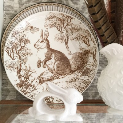 Transferware & Robin's Eggs