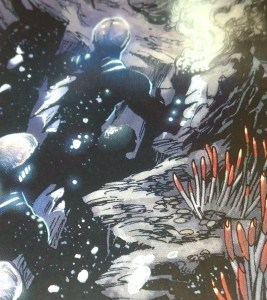 Giant Tube worms on the MAR? I think not. DC Comics.
