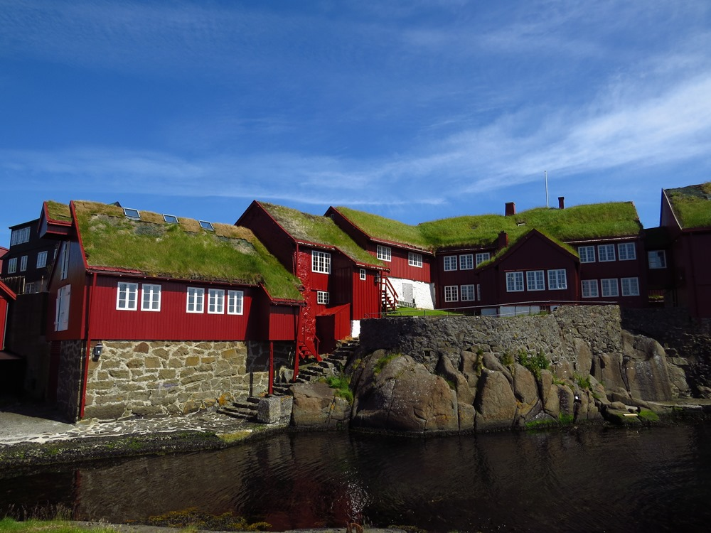 Tinganes, the seat of governement in the Faroes. Photo by ADT.