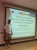Presenting research at the International Marine Conservation Congress in Victoria, BC.