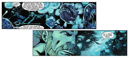 Aquaman and Anglerfish, Aquaman #25, DC Comics