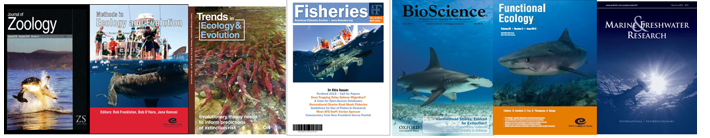 Here are some of the journals that our lab's work has been featured in