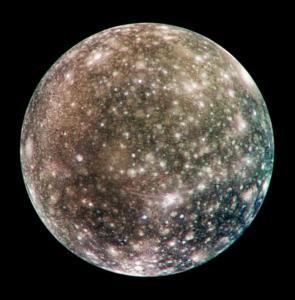 Callisto. A moon.