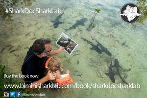 Reading Shark Doc, Shark Lab to the next generation...next to some sharks!