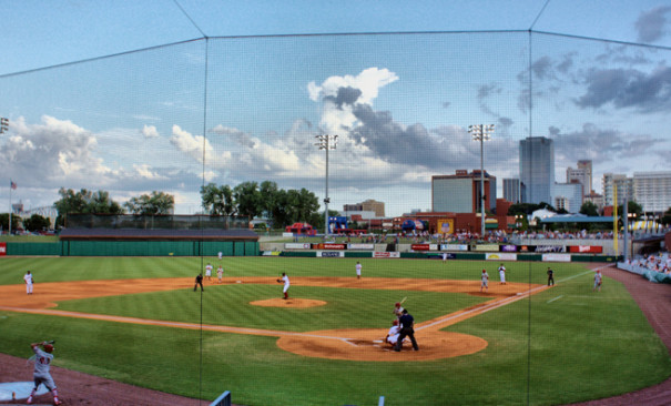 Arkansas Travelers at Dickey-Stephens Park