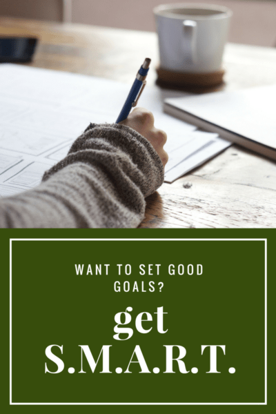 Set goals you can actually achieve with the SMART method.