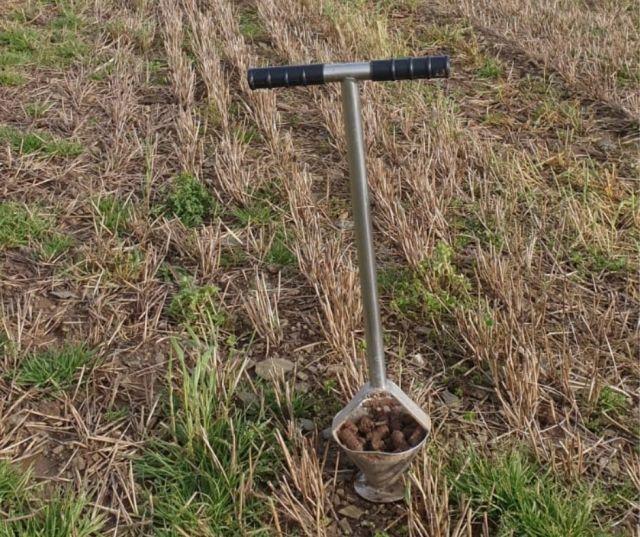 Photo of soil sampler