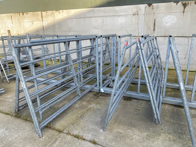 Displayed gates read for sale