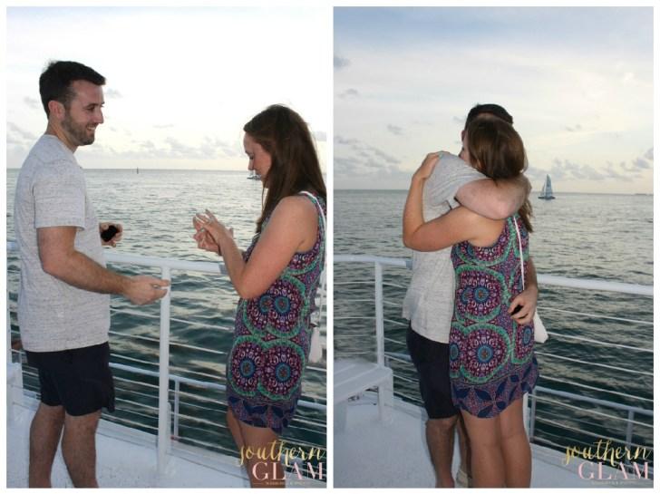 Key West wedding proposal