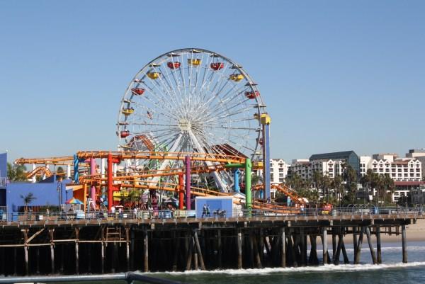 Santa Monica Pier in Santa Monica California