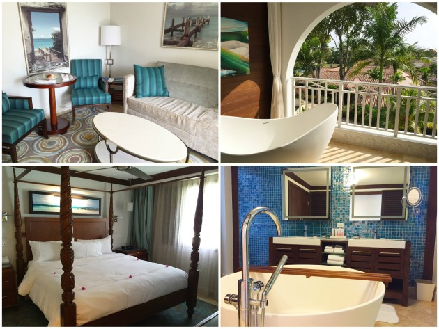 Sandals Barbados Crystal Lagoon One Bedroom Butler Suite with Balcony Barbados Tranquility Soaking Tub