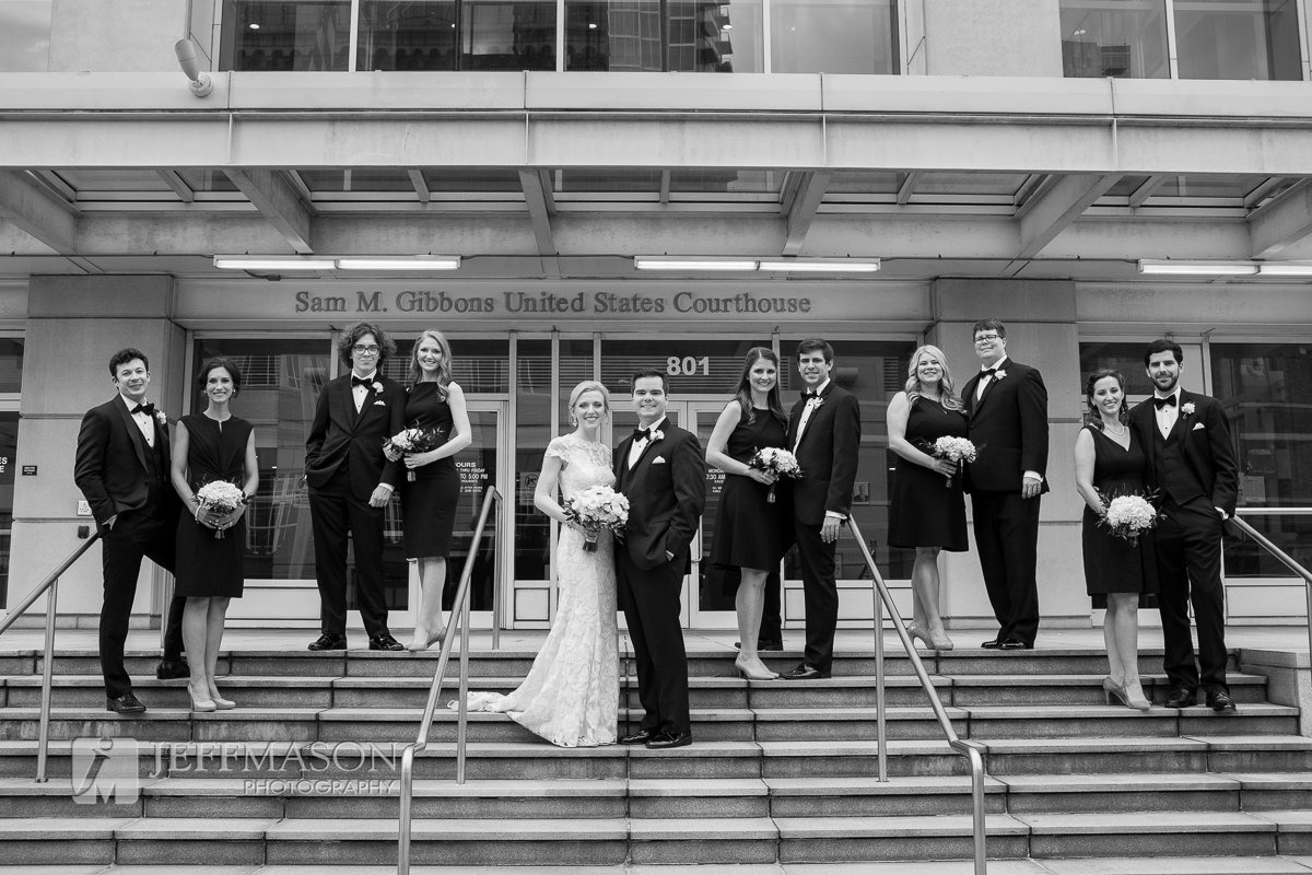 Downtown Federal Courthouse Wedding | Jeff Mason Photography | Southern Glam Weddings & Events