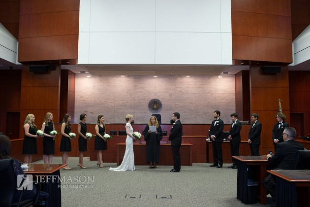 Downtown Federal Courthouse Wedding at Sam M Gibbons Courthouse | Jeff Mason Photography | Southern Glam Weddings & Events