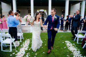 Garden romance wedding tampa
