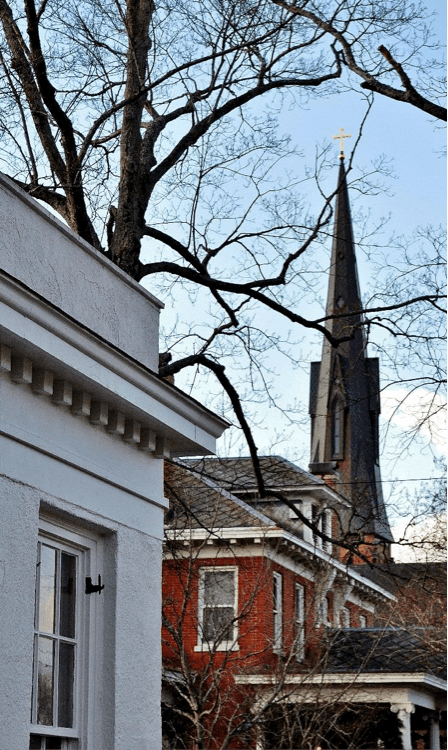 Renovation Diary: The House on Gates, Part 2- Nativity Episcopal Steeple