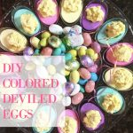 Colored Deviled Eggs for Easter + Grandma's Deviled Egg Recipe