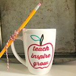 DIY Teacher Mug!