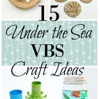 """VBS Craft Ideas - Submerged """"Under the Sea"""" Theme"""