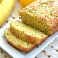 Lemon Poppy Seed Summer Squash Bread