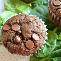 Chocolate Chip Spinach Muffins