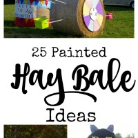 25 Fall Painted Hay Bale Ideas