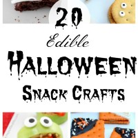 20 Edible Halloween Crafts for Kids