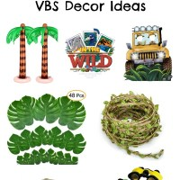 In The Wild VBS Decor Ideas