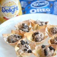 Snack Time Favorite: OREO® Cannoli Cups