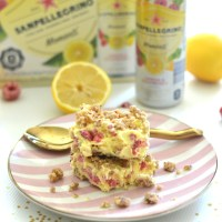 A Taste of Summer: Lemon Raspberry Crumble Ice Cream Bars